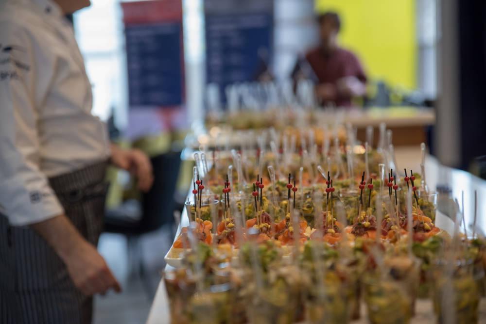 Catering: una ayuda inestimable para un día de fiesta